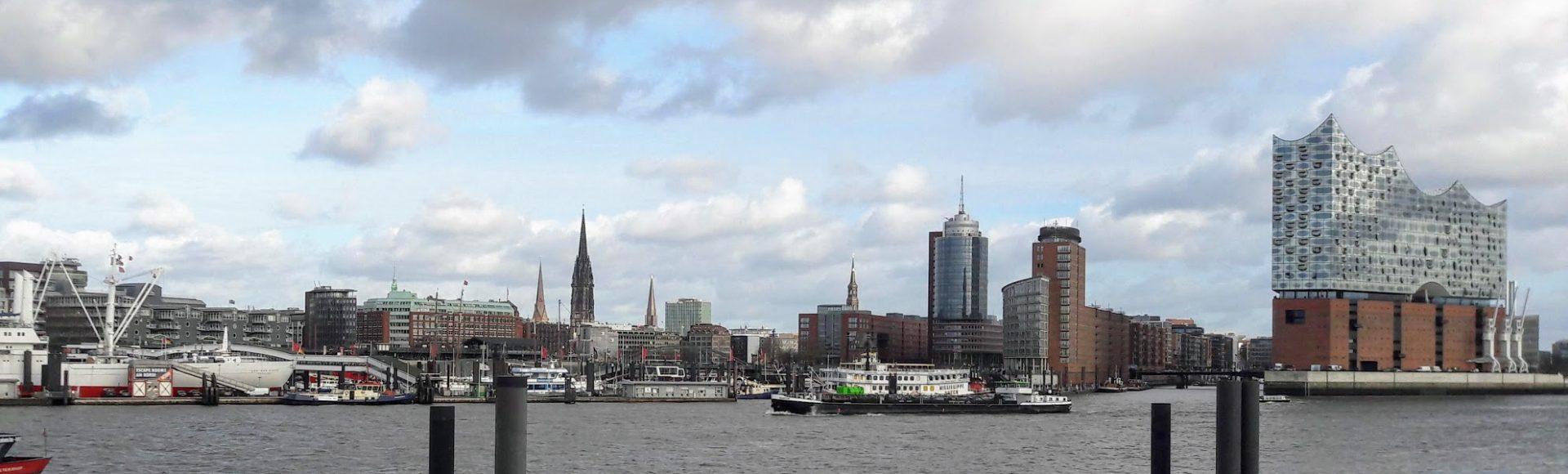 Hamburg aan de Elbe
