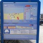 informatiebord strandslag Hargen aan Zee