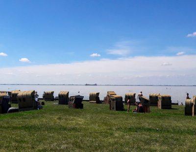 strandstoelen aan de Oostkust